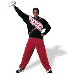 SNL Spartan Cheerleader Male Adult Costume 100-100238