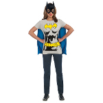 Batgirl T-Shirt Adult Costume Kit 100-212050