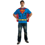 Superman T-Shirt Adult Costume Kit 100-212054