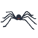 Black Posable Spider with Light and Sound 100-198174