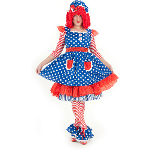 Raggedy Ann Deluxe Adult Costume 100-212083