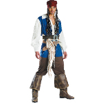 Captain Jack Sparrow Teen Costume 100-145390