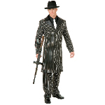 Gangster Suit Long Jacket Teen Costume 100-135832