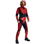Halo  - Red Spartan Deluxe Adult Costume 100-212231