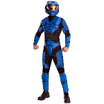 Halo - Blue Spartan Deluxe Adult Costume 100-212233