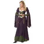 Lady in Waiting Adult Costume 100-213106