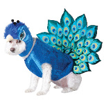 Peacock Pet Costume 100-213187
