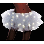 Light Up White Adult Tutu 100-212775