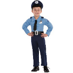 Police Officer Toddler Costume 100-214554
