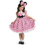 Minnie Mouse Glow in the Dark Child Costume 100-214035