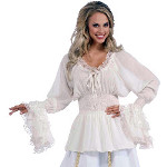 Medieval Adult Plus Blouse 100-214278