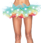 Light Up Rainbow Tutu (Adult) 100-212745