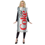 Coca-Cola - Diet Coke Can Adult Costume 100-213428