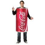 Coca-Cola - Coke Can Adult Costume 100-213429