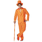 Dumb and Dumber Lloyd Orange Tuxedo Adult Costume 100-213552