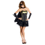 DC Comics Secret Wishes Batgirl Corset Adult Costume 100-215190