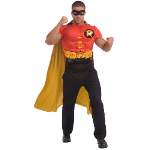 DC Comics Robin Muscle Chest Adult Costume Kit 100-215208