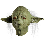 Star Wars Yoda Overhead Latex Mask (Adult) 100-215294