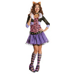 Monster High Deluxe Clawdeen Wolf Adult Costume 100-215416