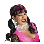 Monster High Draculaura Adult Wig 100-215420