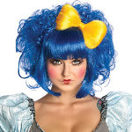 Cutie Doll Blue Adult Wig 100-215561