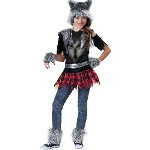 Wear Wolf Tween Costume 100-212994