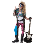 80's Glam Rocker Child Costume 100-215742