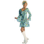 Go Go Blue Adult Costume 100-214633