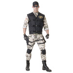 SEAL Team Standard Adult Costume 100-214663