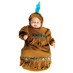 Papoose Bunting Infant Costume 100-215100