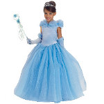 Blue Princess Cynthia Child Costume 100-216438