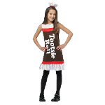 Tootsie Roll Ruffle Dress Child Costume 100-215018