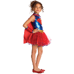 Supergirl Tutu Toddler Costume 100-216077