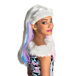 Monster High Abbey Bominable Child Wig 100-216270