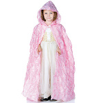 Pink Pintuck Cape (Child) 100-215857