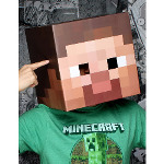 Minecraft Steve Head Mask Adult 100-216911