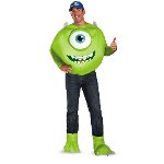 Monsters University Mike Deluxe Plus Adult Costume 100-216946