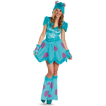 Monsters University Sassy Sulley Adult Costume 100-217203