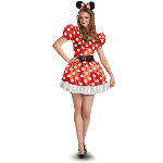 Minnie Mouse Classic Adult Costume 100-217206