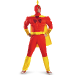 The Simpsons Radioactive Man Classic Muscle Adult Costume 100-217249
