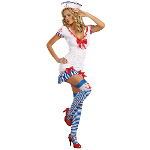 Sailor Pin-Up Adult Costume 100-217845