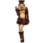 Bear Hugs Adult Plus Costume 100-217885