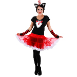 Cat In The Hat Tutu Adult Costume 100-217301