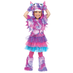 Polka Dot Monster Toddle Costume 100-217028
