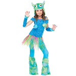 Blue Beasty Child Costume 100-217059