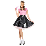 50's Sweetheart Adult Costume 100-218496