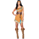 Disney Princesses Pocahontas Adult Costume 100-217424