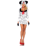 Dotty Dalmation Adult Costume 100-217434