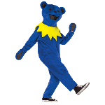 Grateful Dead Blue Dancing Bear Adult Costume 100-217176