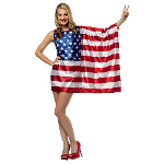 USA Flag Dress 100-217197